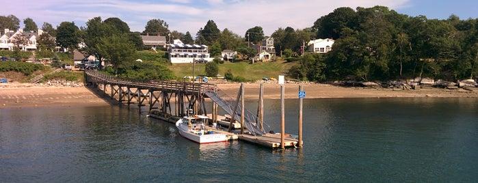 Peaks Island Ferry is one of Orte, die Philippe gefallen.