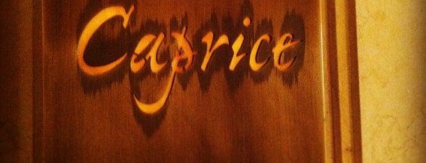 Caprice is one of 3* Star* Restaurants*.
