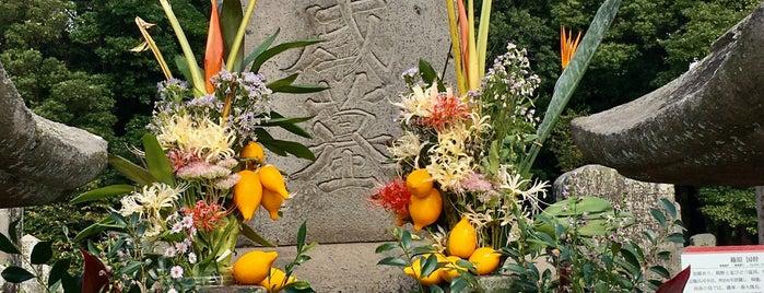 西郷隆盛の墓 is one of 西郷どんゆかりのスポット.