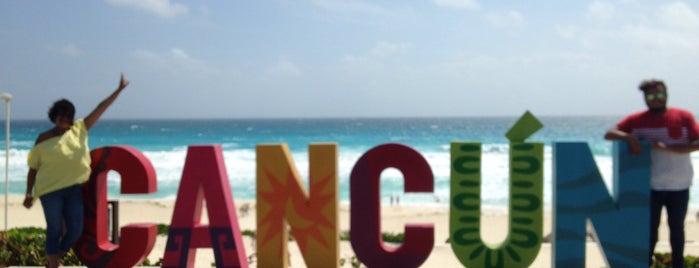 Playa Delfines (El Mirador) is one of Lugares favoritos de Eduardo.