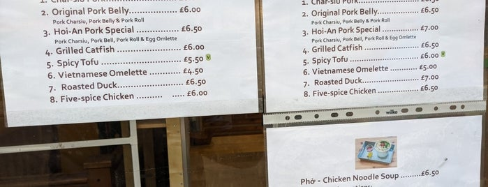 Bánh Mì Hội-An is one of East & North London.