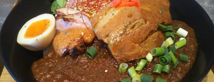 YASSカレー is one of Lieux qui ont plu à まるめん@下級底辺SOCIO.