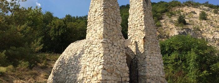 Boldogasszony kápolna is one of Budai hegység/Pilis.