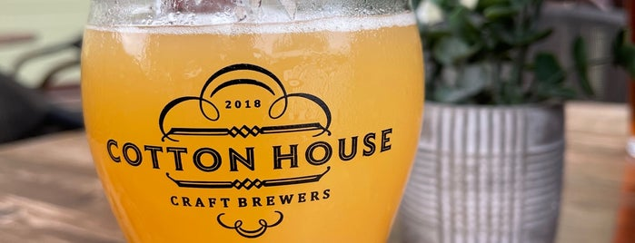 Cotton House Craft Brewers is one of NC YumYum NomNom.