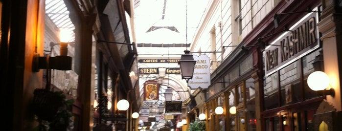 Passage des Panoramas is one of Paris.