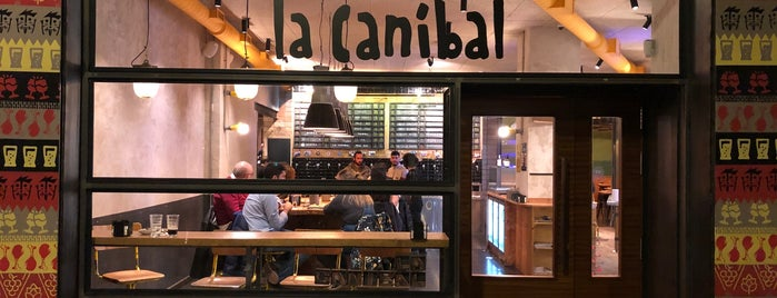 La Canibal is one of Tapear por Madrid.