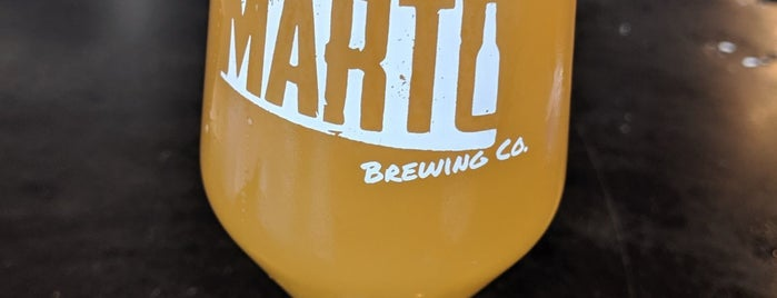 Marto Brewing is one of Posti che sono piaciuti a Andrew.