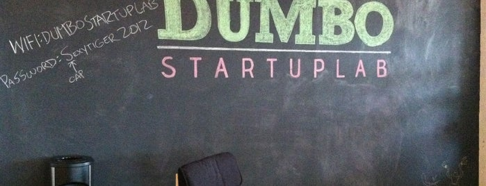 DUMBO Startup Lab is one of NYC Work Spaces & Tech Startups.