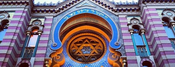 Jubilejní (Jeruzalémská) synagoga is one of Praha - Prague - Praga.