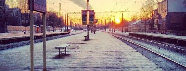 Станция Крюково is one of Orte, die Антон gefallen.