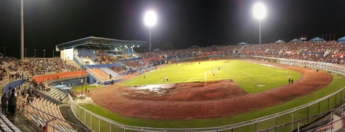 Stadium Tan Sri Dato' Hj Hassan Yunos is one of Singapore достопримечательности.