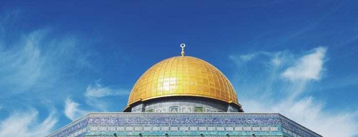 The Temple Mount is one of สถานที่ที่ Thomas ถูกใจ.
