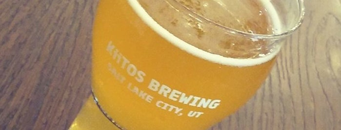 Kiitos Brewing is one of Lieux qui ont plu à Abby T..