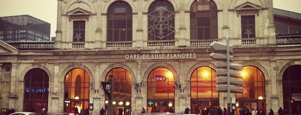 Gare SNCF de Lille Flandres is one of Orte, die Can gefallen.