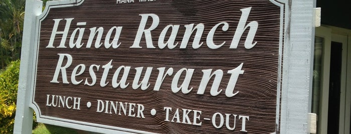 Hana Ranch Restaurant is one of Tempat yang Disukai Krissy.