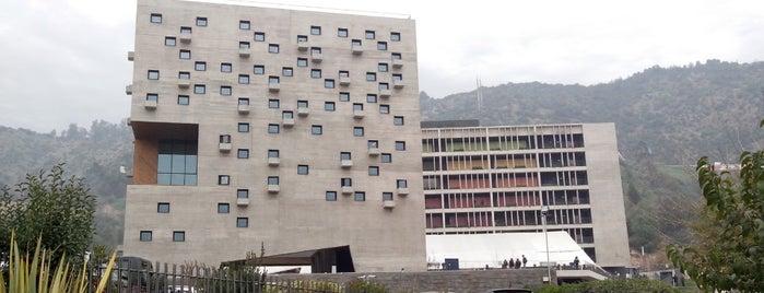FEE UDP Campus Ciudad Empresarial is one of สถานที่ที่ Eduardo ถูกใจ.