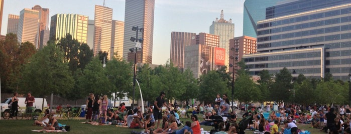 Klyde Warren Park is one of Dallas FW Metroplex.