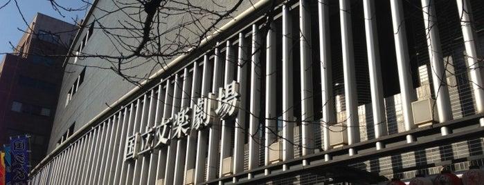 National Bunraku Theatre is one of Osaka.