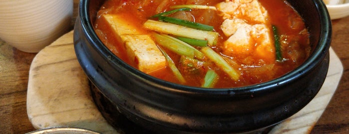 Han Sing Sing Korean Cuisine is one of Gespeicherte Orte von Sergio.