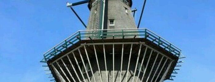 Molen De Gooyer is one of Amsterdam.