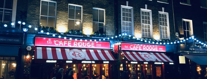 Café Rouge is one of London Stories.