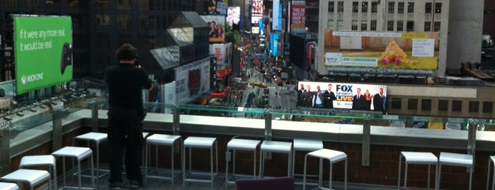 Novotel New York Times Square is one of For the out of towners.