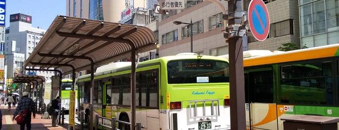池袋駅東口バス停 is one of Locais curtidos por Masahiro.
