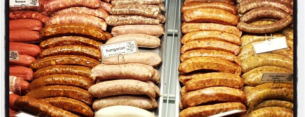 Rosamunde Sausage Grill is one of San Fran.