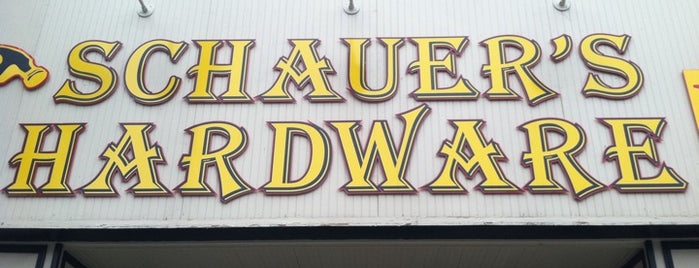 Schauer Hardware is one of Chicago.