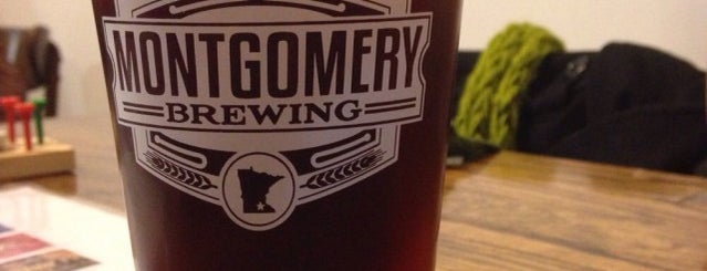 Montgomery Brewing Co. is one of Drink Local 🍺.