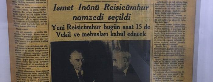 Cumhuriyet Tarihi Müzesi is one of Eskisehir gidilecek.