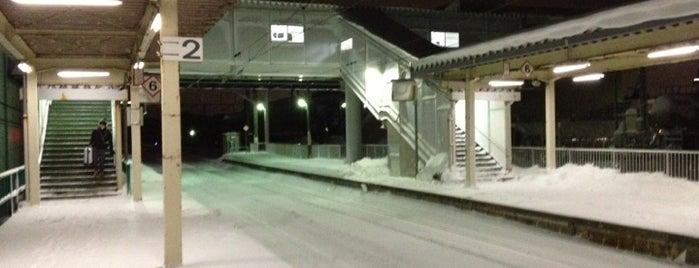 和田駅 is one of JR 키타토호쿠지방역 (JR 北東北地方の駅).