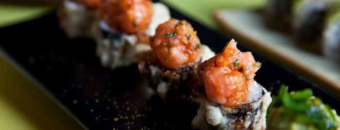 Ikibana is one of Barcelona: best restaurants, pizza, sushi, tapas.