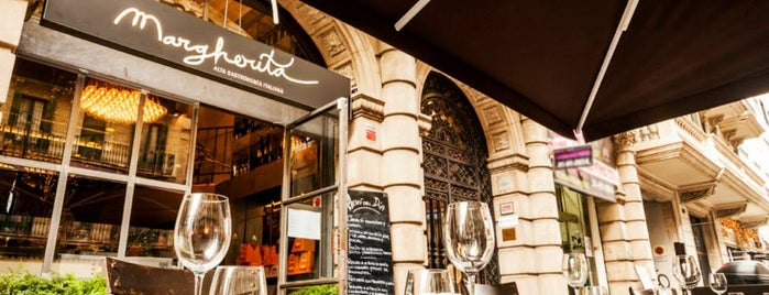Restaurante Margherita is one of Barcelona: best restaurants, pizza, sushi, tapas.