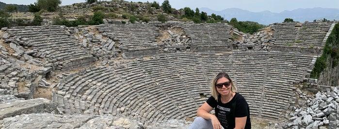 Selge Antik Tiyatrosu is one of Antalya.