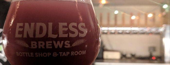 Endless Brews is one of QC/Iowa.