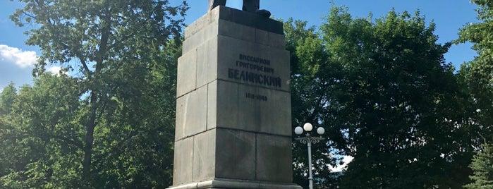 Сквер им. В.Г. Белинского is one of Locais curtidos por Alexander.