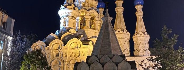 Церковь Рождества Богородицы в Путинках is one of Досуг.