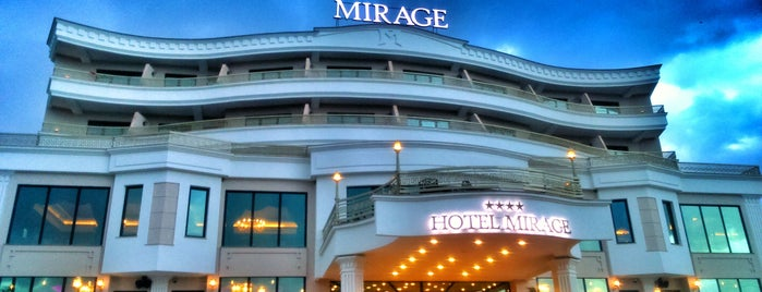 Mirage Hotel & Spa is one of Tempat yang Disukai Barış.