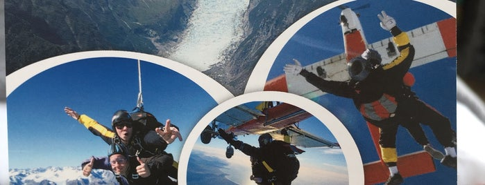 Skydive NZ, Fox Glacier is one of Andreasさんのお気に入りスポット.