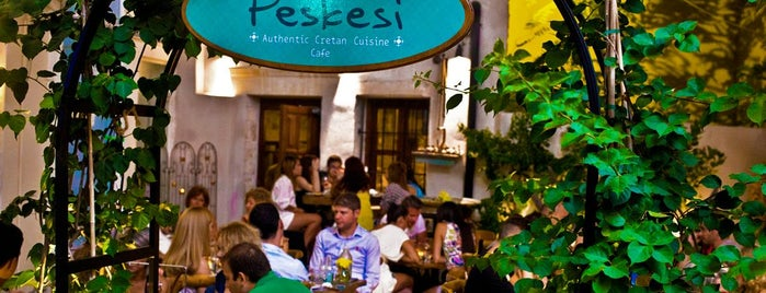 Peskesi is one of Hanya- heraklion.