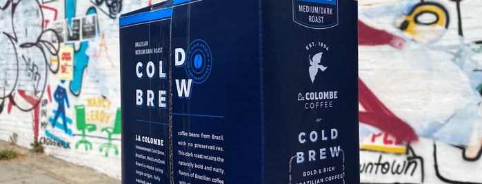 La Colombe Coffee is one of LAX.