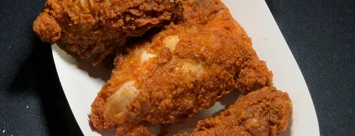 Jim Dandy's Fried Chicken is one of Two Puffs in the South Bay.