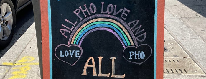 Pho Saigon Pearl is one of LA.