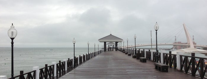 Danshui Fisherman's Wharf Wooden Trail is one of Datさんの保存済みスポット.