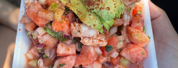 Mariscos Mar y Tierra is one of SD: Food & Drinks.