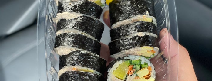 The Kimbap is one of Food in SoCal.