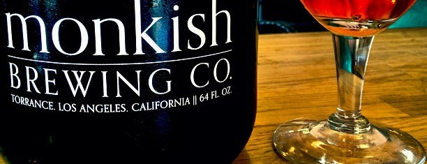 Monkish Brewing Co. is one of LA & SD Breweries.