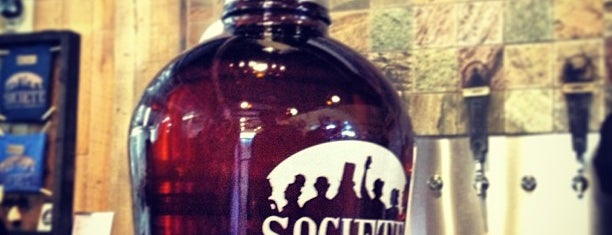 Societe Brewing Company is one of Breweries I'd like to visit.