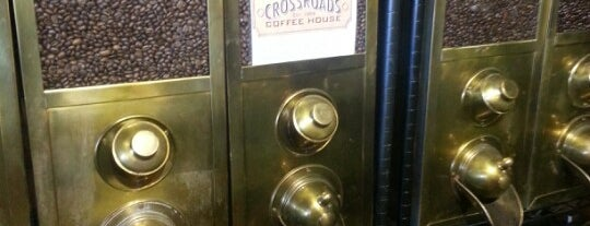 Crossroads Coffee is one of Locais salvos de Erich.